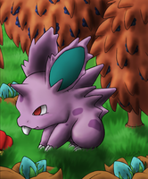 032 Nidoran M by PokeGirl5