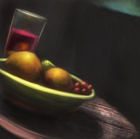 Still life digital paint by Raikoh-illust