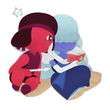 Ruby Sapphire by corrupted-azero