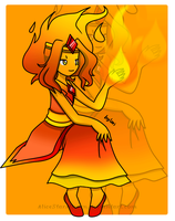 Flame Princess by Rainnye