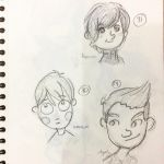 studies from other illustrators 5 by elcoruco1984