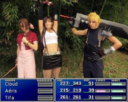 Final Fantasy VII - Winners! by AerithStrife90