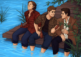 Team Free Will Summer by DeerAzeen
