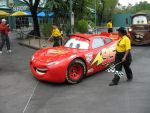 lightning mcqueen by crochetbelle