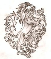 Celtic Lion by TheLob