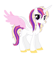 Shimmer Heart - CadencexShining Armor Child by srbarker