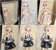 Her Dresses by MySweetQueen-Dolls