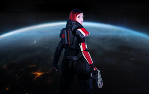 Mass Effect 3 - Shepard is watching You by LadyTenebraeTabris