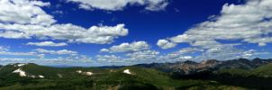 Mountain Panoramic by AustinHelling