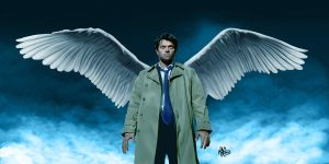 Castiel by Mattspaintings