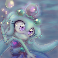 Jewel the Giant Siphonophore by KissTheThunder