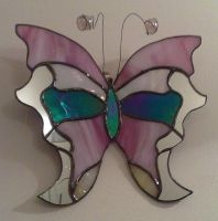Stained Galss ButterFly by Veggie-San