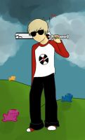 Dave Strider by kitsuneKNC
