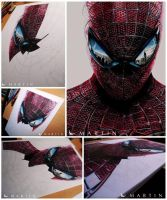 .:The Amazing Spider Man ~ WIP edition + Thanks:. by Martin--Art