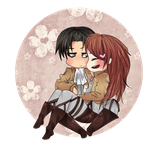 .:: Commission ::. Levi/Piwy by Dark--Gaia