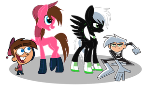Nicktoon MLP Boys by EssentialNightfall