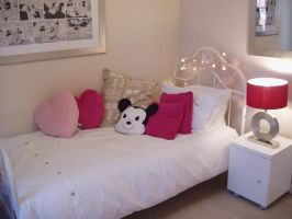 in house  girls bedroom by 231205-stock