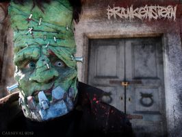 Frankenstein Close up by mtingstrom