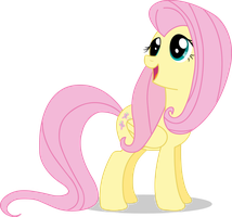 Fluttershy Vector #01 by Spaz-Featherbrain