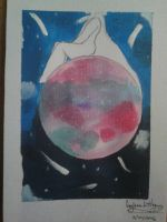 watercolor ball by Somewittyname1994