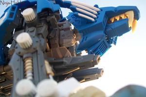 Looking Up At Your Zoid... by LigerZeroLindsey