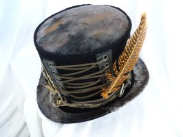 steampunk top hat tall by Serata