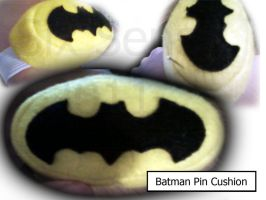 Batman Pin Cushion by Noleetida
