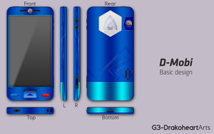 D-Mobi design by G3Drakoheart-Arts