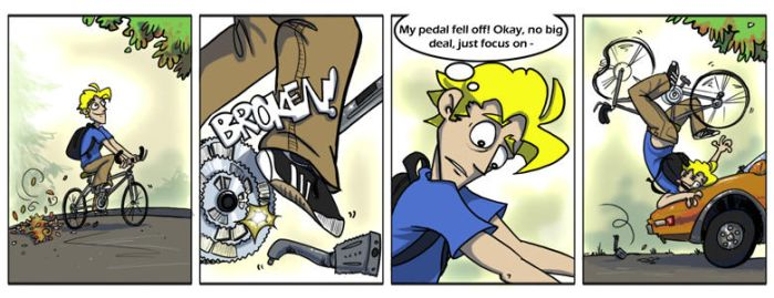 Bicycle Malfunction by Sterfry7