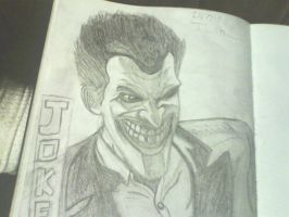 The Joker Arkham origins by ThomasDrawsStuff