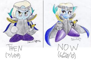 Chuva then and now by turbomun