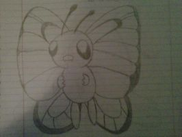 Butterfree by uchiha-fan-girl