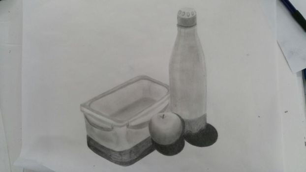 Basic shape objects, pencil-shaded by Gary3-6-9