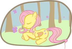 Fluttershy by signupfree