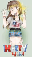 The 4th of July by AnimeDragon10