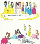 princesses disney by elodieland