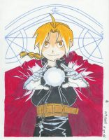 Alchemic Light -Edward Elric- by o0bubbleheadz0o