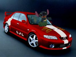 Mazda 626 Stitchified by Stitchfan