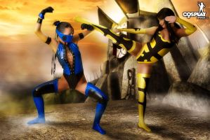 Mortal Kombat goddesses part 1 by cosplayerotica