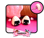 Mr. Onigiri Studs - anatego by Cute-Craft