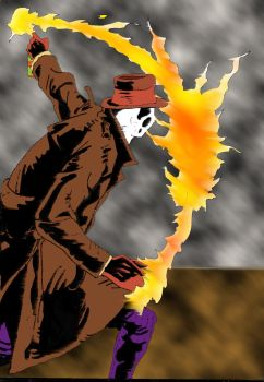 The Flame of Rorschach by Why-So-Seriouss