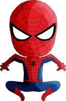 Spiderman Chibi by Guitar6God