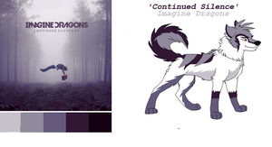 Continued Silence EP- Wolf Adoptable TAKEN by AlphaWolfKodijr