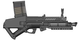 Halcyon Dynamics HA-2 Compact Kinetic Carbine by CommodoreHorton