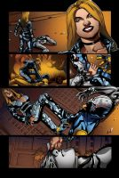 Color portfolio: The Bounce issue7 pag2 by shiprock