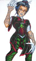 Deathstrike- Costume Contest by CYBERBUTTERFLY