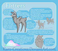 Species Information: Flitters by Kuro-Creations