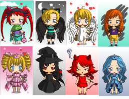 Chibi Adopts 1 by superstel