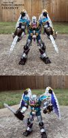 BW Predacon Commander Sixshot by Unicron9