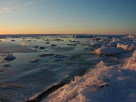 Sea of ice 4 by LucieG-Stock